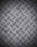 Old grungy diamond plate Royalty Free Stock Photo