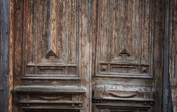 Old grungy door Stock Photo