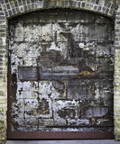 Old Grungy Door Stock Images