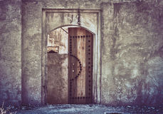 Old Grungy door Royalty Free Stock Photography