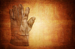 Old grungy glove Royalty Free Stock Image