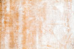 Old grungy plywood with white paint stock images