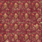 Old grungy roses wallpaper Royalty Free Stock Image