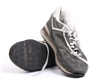 Old grungy Running Shoes Royalty Free Stock Images