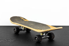 Old grungy skateboard Royalty Free Stock Images