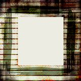 Old grungy stained frame. With copyspace Royalty Free Stock Photography