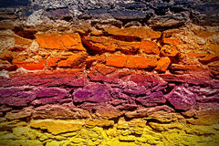 Old grungy stone wall background Royalty Free Stock Photography