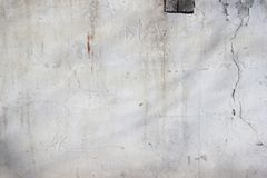 .Background - texture. old whitewashed and plastered brick wall stock photo