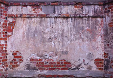 Old grungy wall Royalty Free Stock Photos