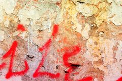 Old grungy wall Royalty Free Stock Photo