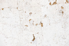 Old, grungy white background of natural plaster wall surface. Royalty Free Stock Photography