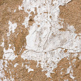 Old, grungy white background of natural plaster wall surface. Royalty Free Stock Photos
