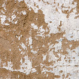 Old, grungy white background of natural plaster wall surface. Stock Photo
