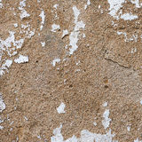Old, grungy white background of natural plaster wall surface. Stock Photos