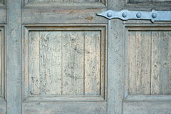 Old grungy wooden door texture Royalty Free Stock Photos