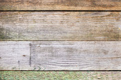 Old grungy wooden wall background texture Royalty Free Stock Images