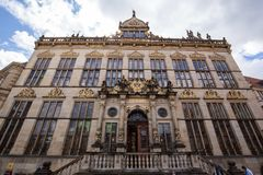 Old guild house in Germany royalty free stock photo