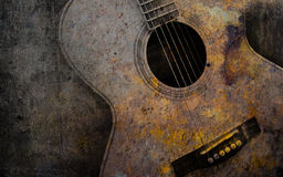 Old guitar Stock Images