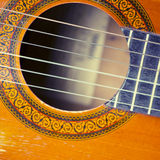 The old Guitar Royalty Free Stock Images