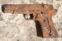 Old gun Royalty Free Stock Photography