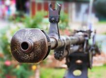 The old gun Stock Photo