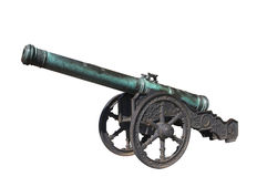 Old gun. Stock Photo