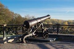 Old gun in Chernihiv Royalty Free Stock Photo