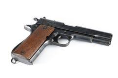 Old Gun. Image of old gun isolate on white background Royalty Free Stock Photos