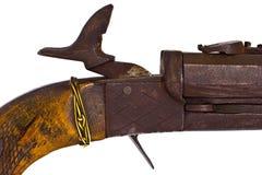 Old Gun Trigger Detail Stock Images