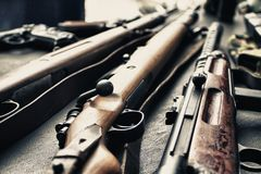 Old guns Royalty Free Stock Images