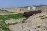 Old Guns on Acre Walls Stock Photography