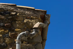 The old gutter. In Spain stock image