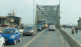Old Ha Long Bay  Bridge Royalty Free Stock Images