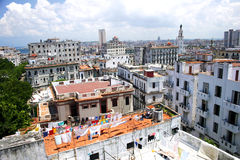 Old Habana Rooftops Stock Photo