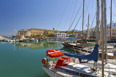 Old habor in Cyprus Stock Photography