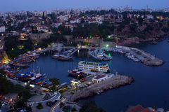 The old Habour. Old marine of Antalya, Turkiye Royalty Free Stock Photography
