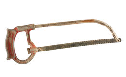 Old hacksaw Royalty Free Stock Images