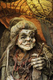 Old Hag Witch. Puppet of Prague Stock Images