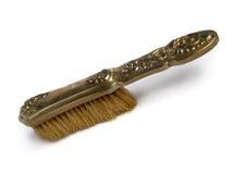 Old hair brush Stock Photo