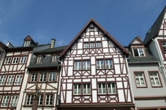 Old half timber house in Germany Stock Photos