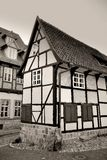 An old half-timbered building royalty free stock photography
