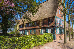 Old half-timbered Farmhouse from 1759 Stock Images