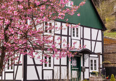 Old half-timbered house Stock Photo