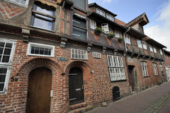 Old half-timbered house, Luneburg, Germany Royalty Free Stock Photography