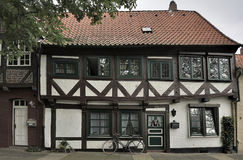 Old half-timbered house, Luneburg, Germany Royalty Free Stock Images