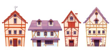 Free Old Half-timbered Houses In German Village Royalty Free Stock Photo - 209187405