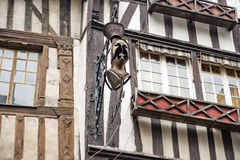 Old half-timbered houses in Rouen,  France Stock Photo