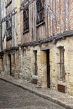 Old half-timbered houses Royalty Free Stock Photo