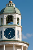 Old Halifax NS Town Clock. The old halifax ns town clock on citadel hill Royalty Free Stock Images