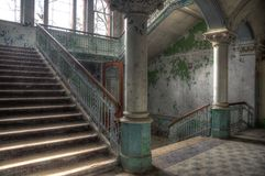 Old Hall in Beelitz Royalty Free Stock Photography